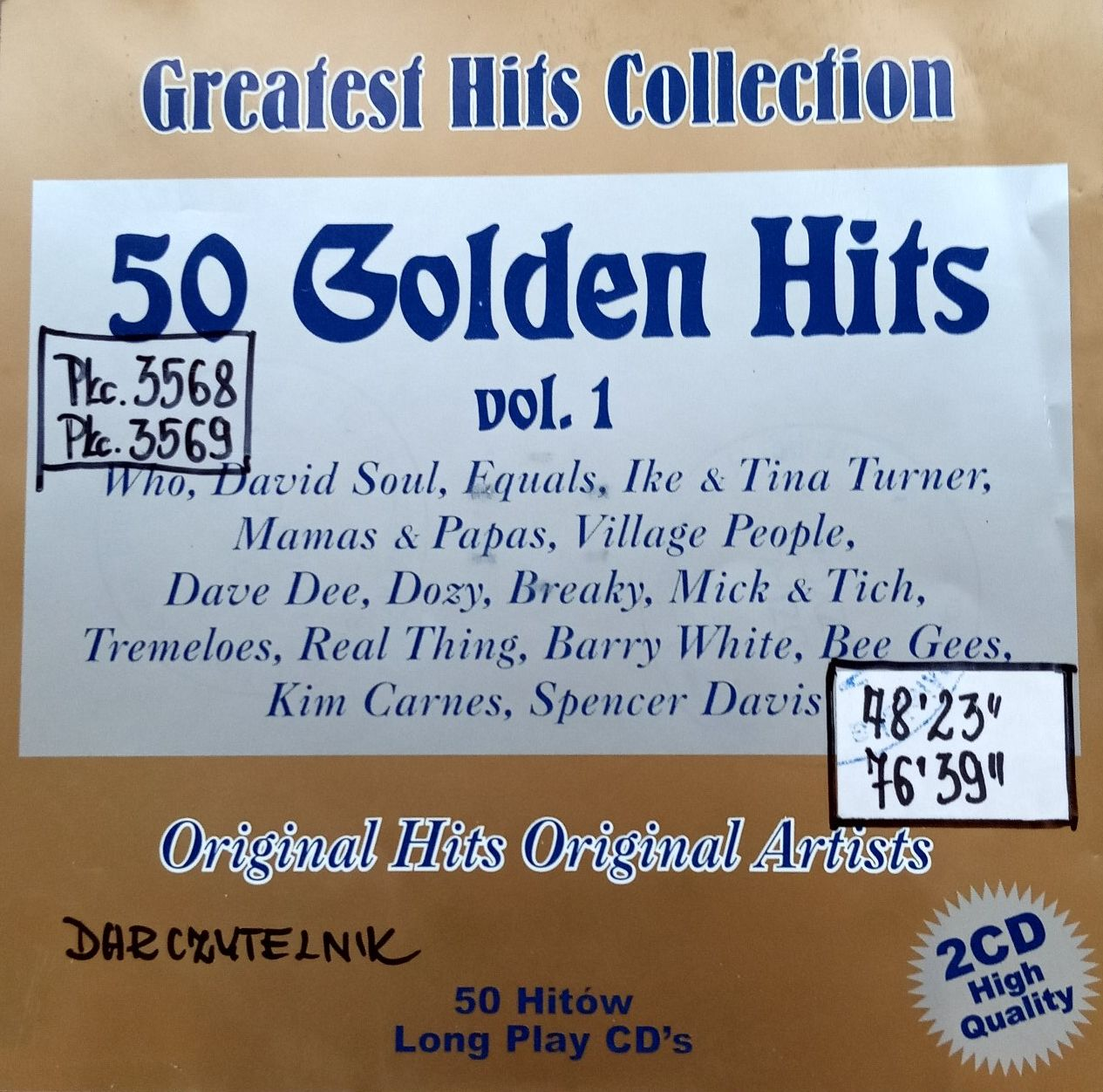 50 Golden Hits Vol. 1