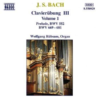 BACH JOHANN SEBASTIAN – Clavierubung III Vol. 1