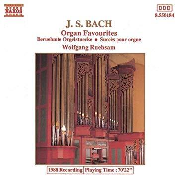 BACH JOHANN SEBASTIAN – Organ Favourites