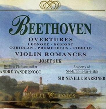 Beethoven – Overtures, Violin Romances