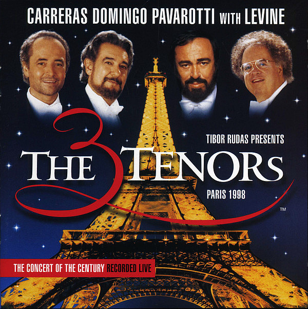 CARRERAS, DOMINGO, PAVAROTTI With LEVINE JAMES - 3 Tenors, Paris 1998