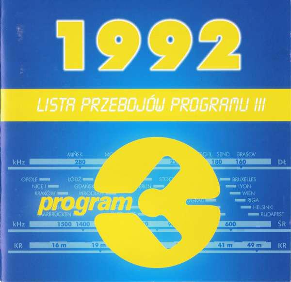 SKŁAD. – Lista Przebojów Programu III – 1992