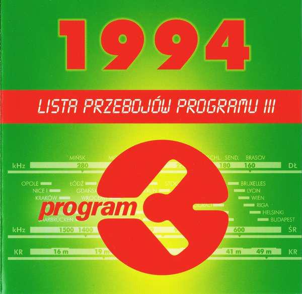 SKŁAD. – Lista Przebojów Programu III – 1994