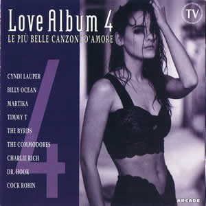 Skład – Love Album 4 Le Piu Belle Canzoni D'amore