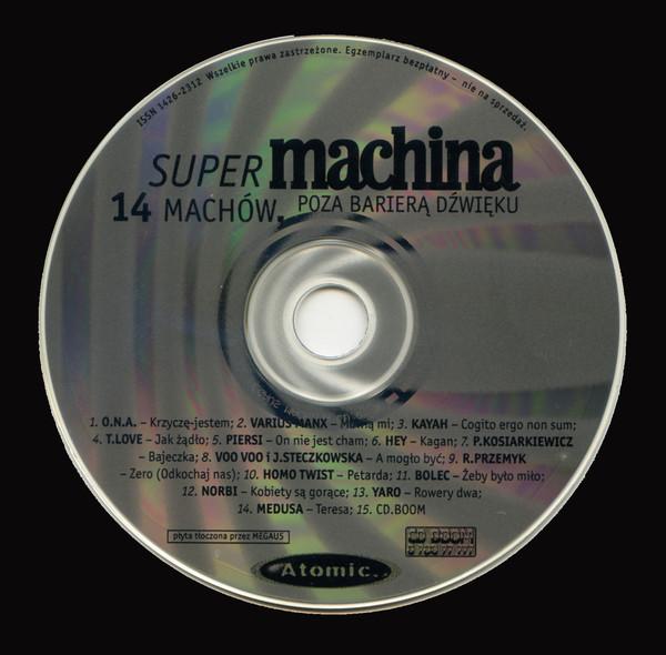 Skład  14 Machów Poza Barierą Dźwięku