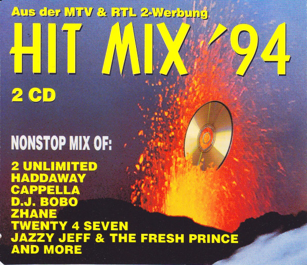 Skład – Hit Mix '94 Aus Der Mtv & RTL 2 Werbung