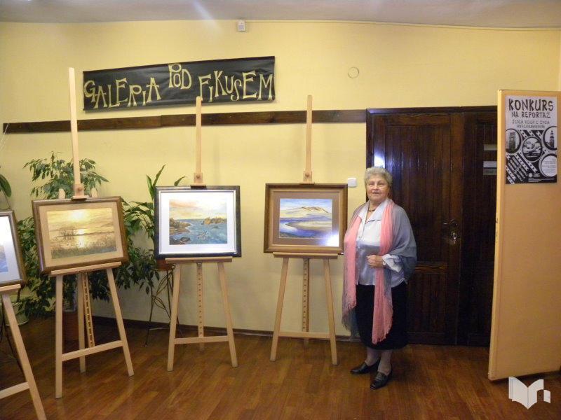 Wystawa Malarstwa Krystyny Kikuły