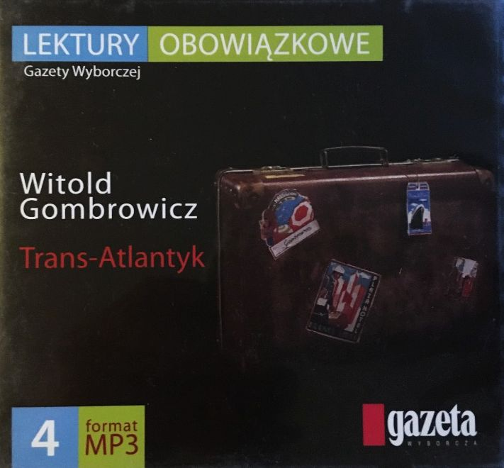 Gombrowicz Witold Trans Atlantyk