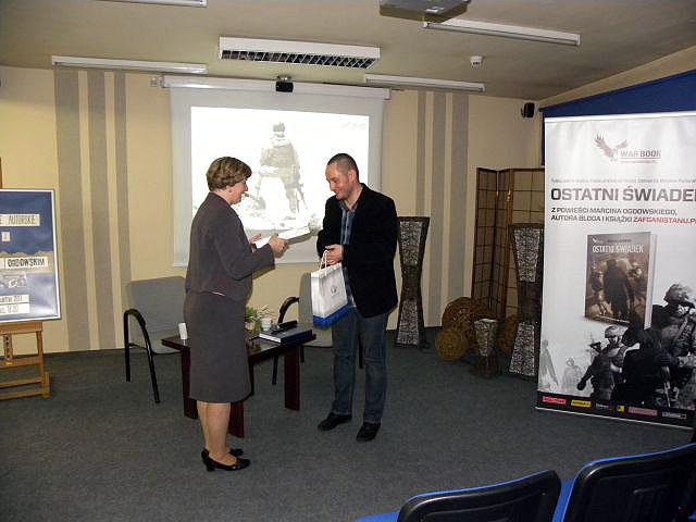 Spotkanie Autorskie Z Marcinem Ogdowskim