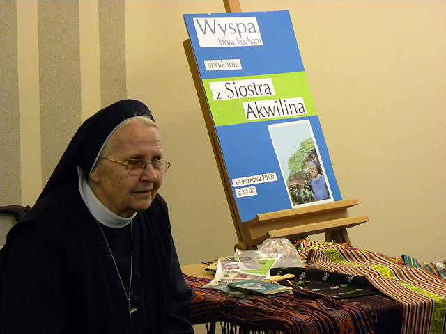 Spotkanie Z Siostrą Akwiliną