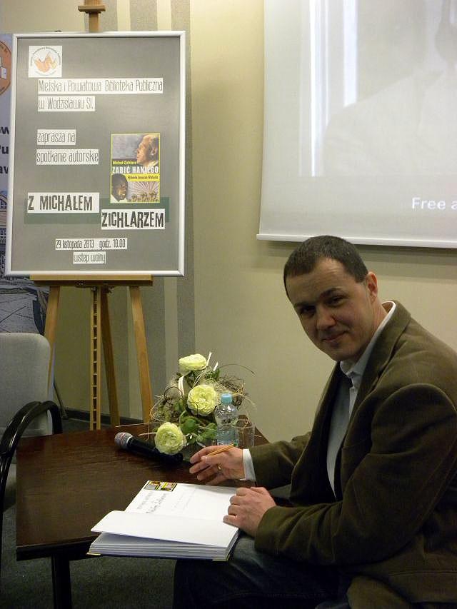 Spotkanie Autorskie Z Michałem Zichlarzem