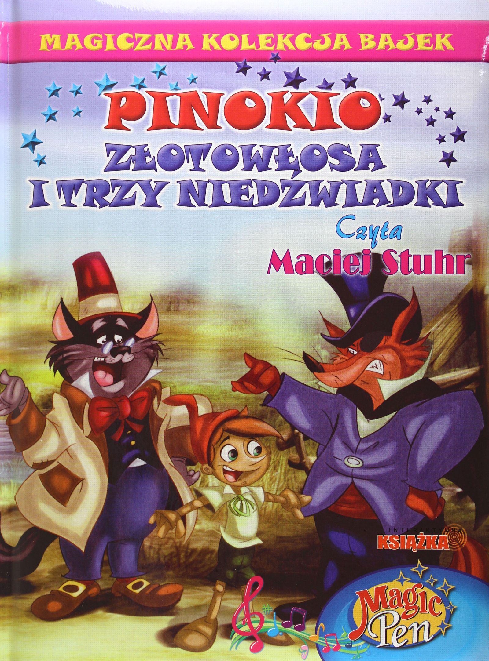 Pinokio, Złotowłosa I Trzy Niedźwiadki