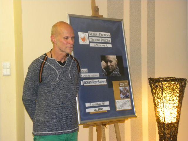 Spotkanie Z Jackiem Hugo Baderem 1