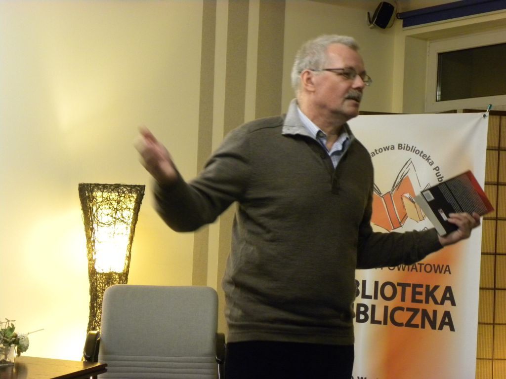 Spotkanie Z Jerzym Buczyńskim