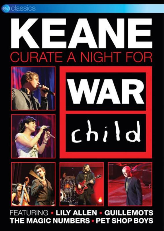 KEANE – Curate A Night For War Child
