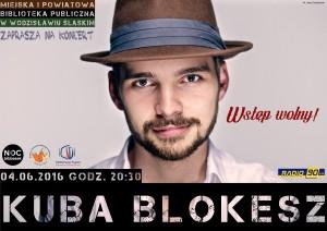 Kuba Blokesz - plakat