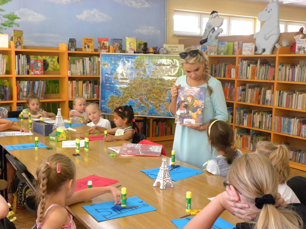 Francja – Wakacje W Bibliotece 6