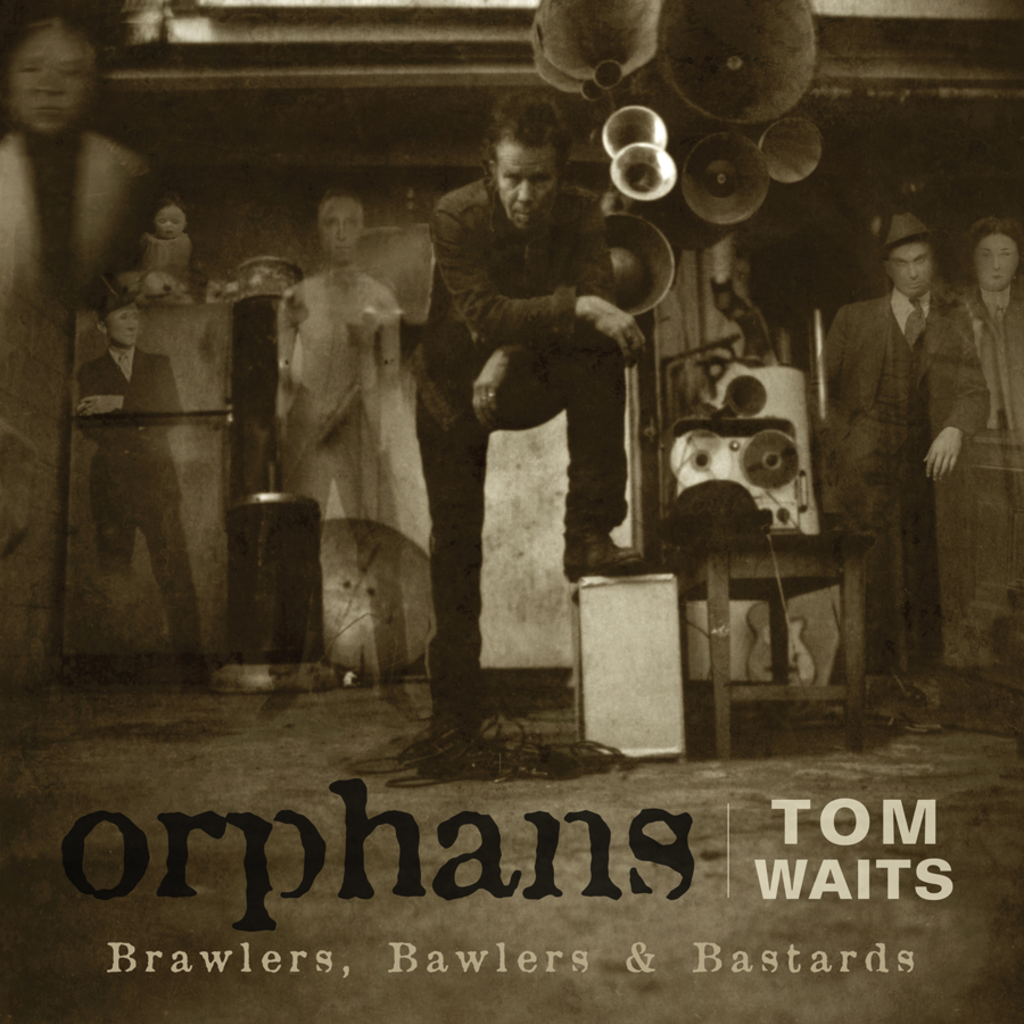 TOM WAITS ‎– Orphans Brawlers, Bawlers & Bastards