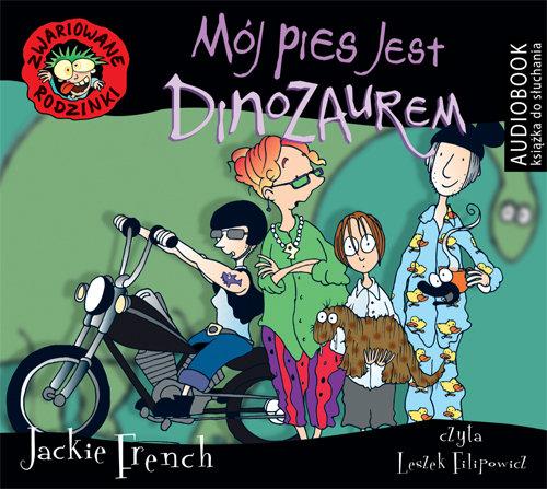 French Jackie Moj Pies Jest Dinozaurem