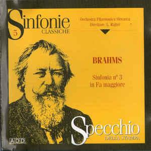 Brahms Johannes – Sinfonia No 3 In Fa Maggiore