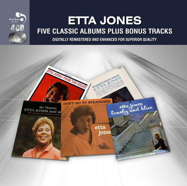 Jones Etta – Five Classic Albums