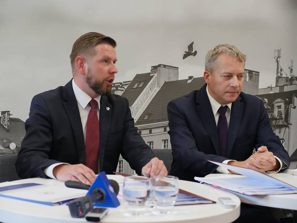 Konferencja Prasowa W Odnowionej Czytelni.
