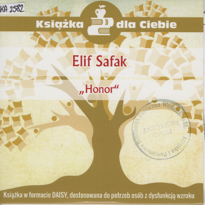 Elif Safak – Honor