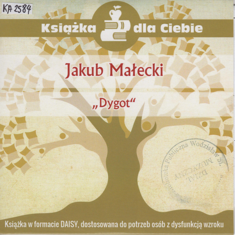 Jakub Małecki – Dygot