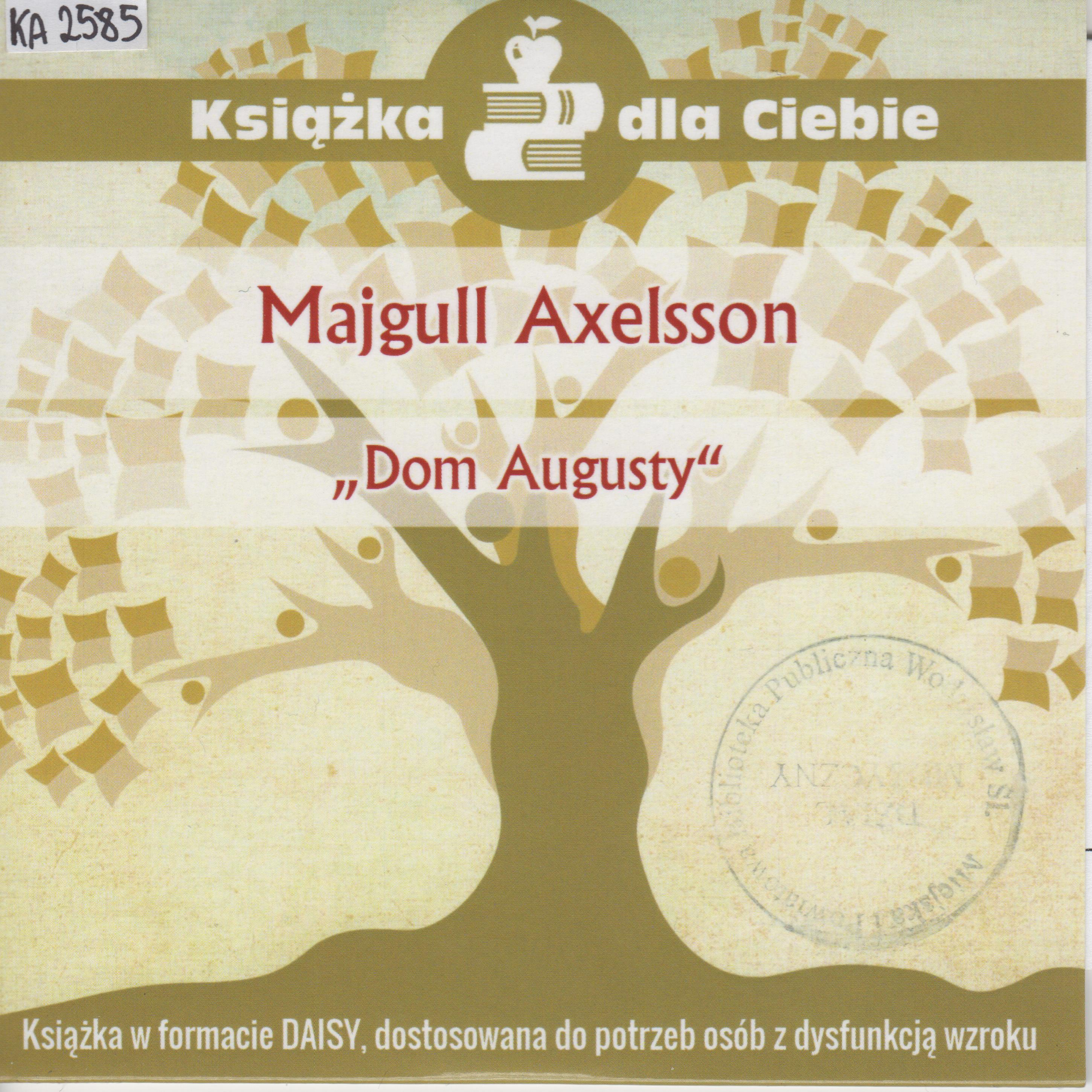 Majgull Axelsson – Dom Augusty