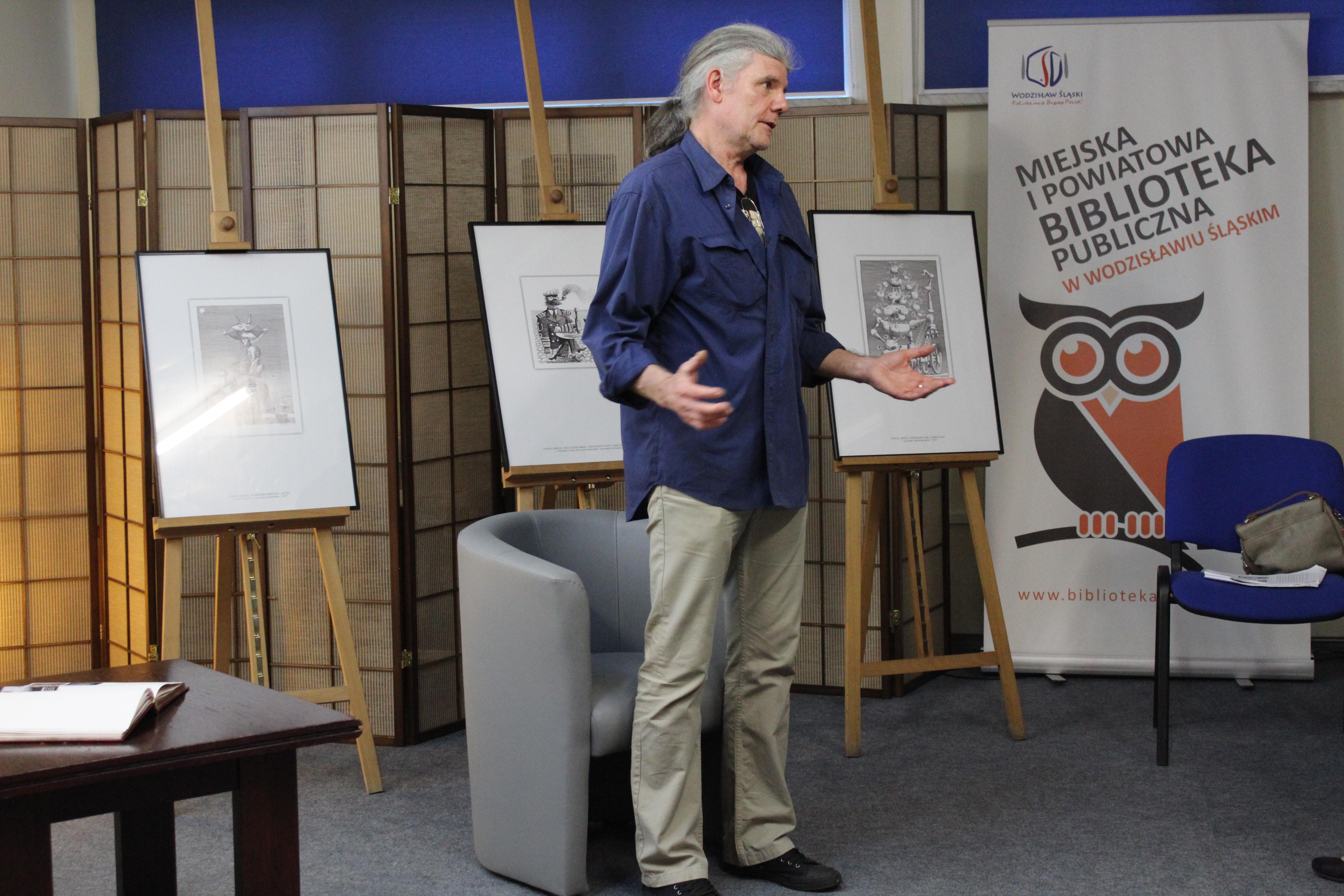 Daniel Mróz – Wystawa Ilustracji