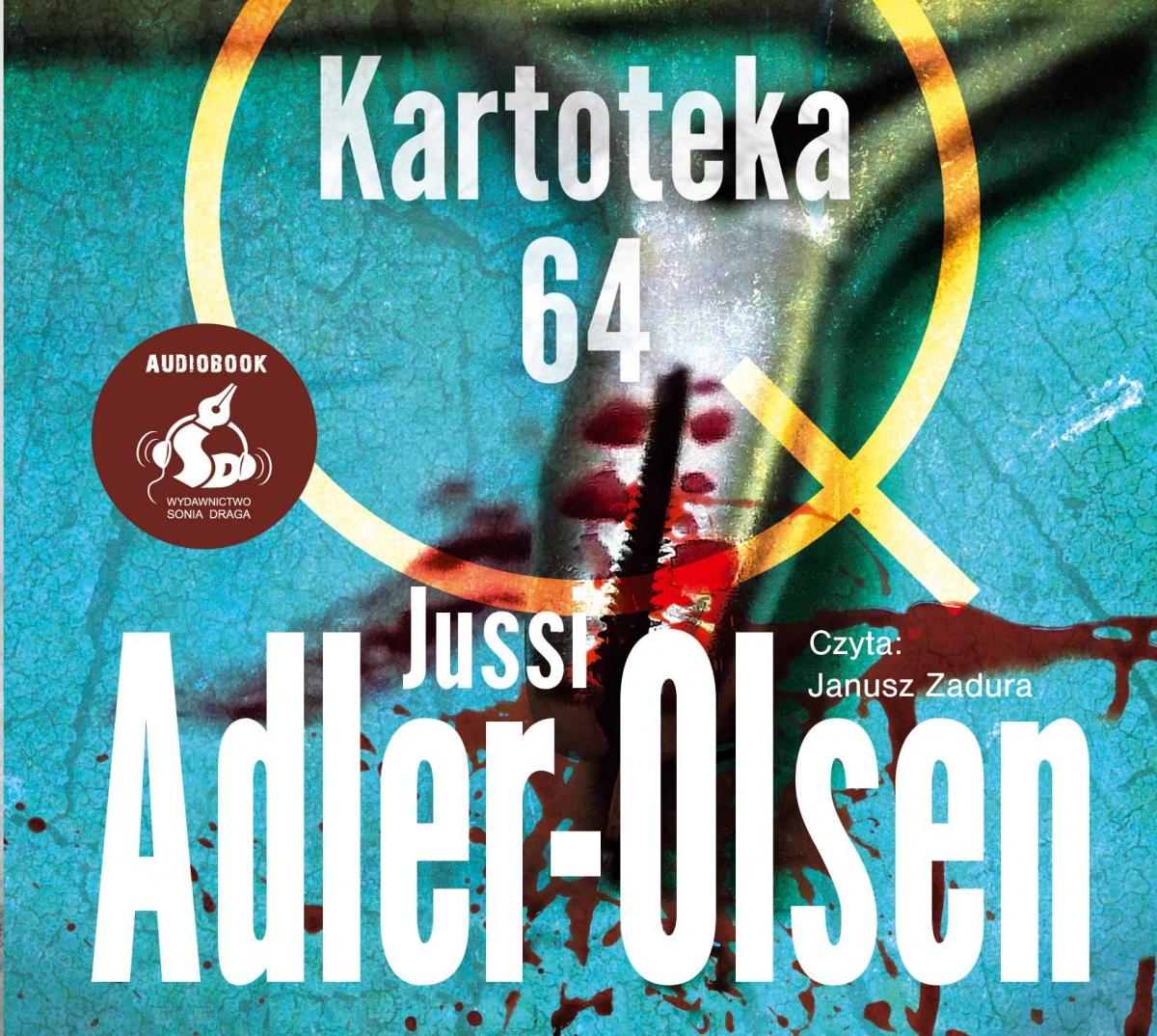 ADLER-OLSEN JUSSI – DEPARTAMENT Q 4. KARTOTEKA 64