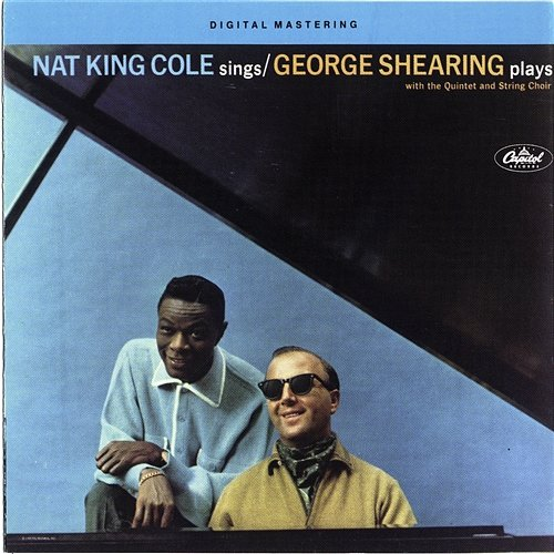 COLE NAT KING & SHEARING GEORGE – Nat King Cole Sings George Shearing Plays