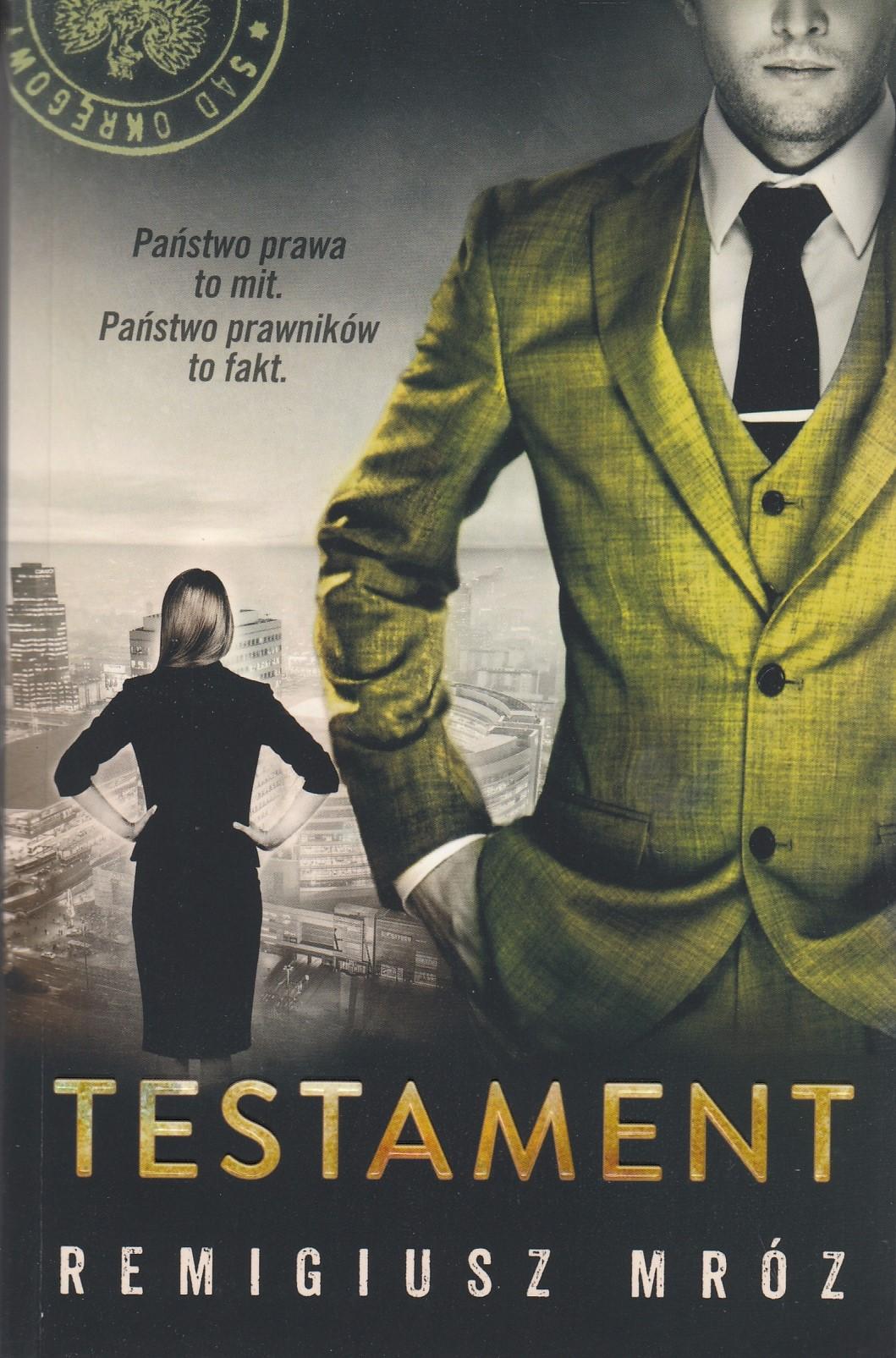 MRÓZ REMIGIUSZ – Testament