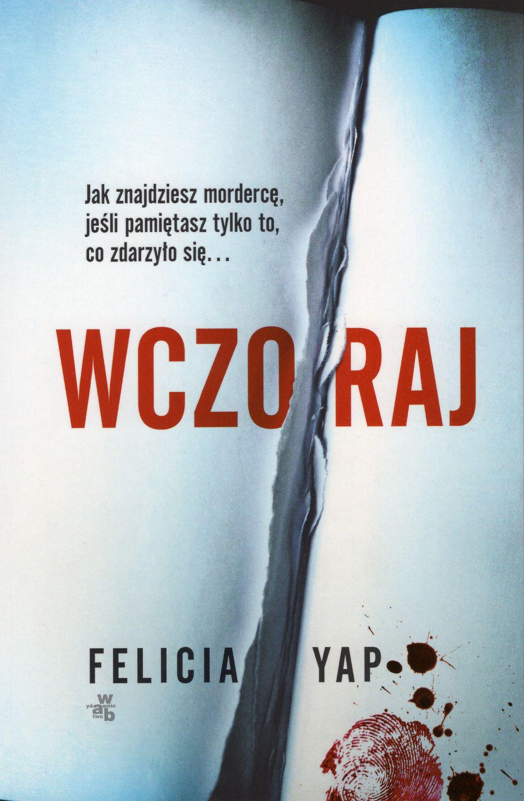 Yap Felicia – Wczoraj Książka