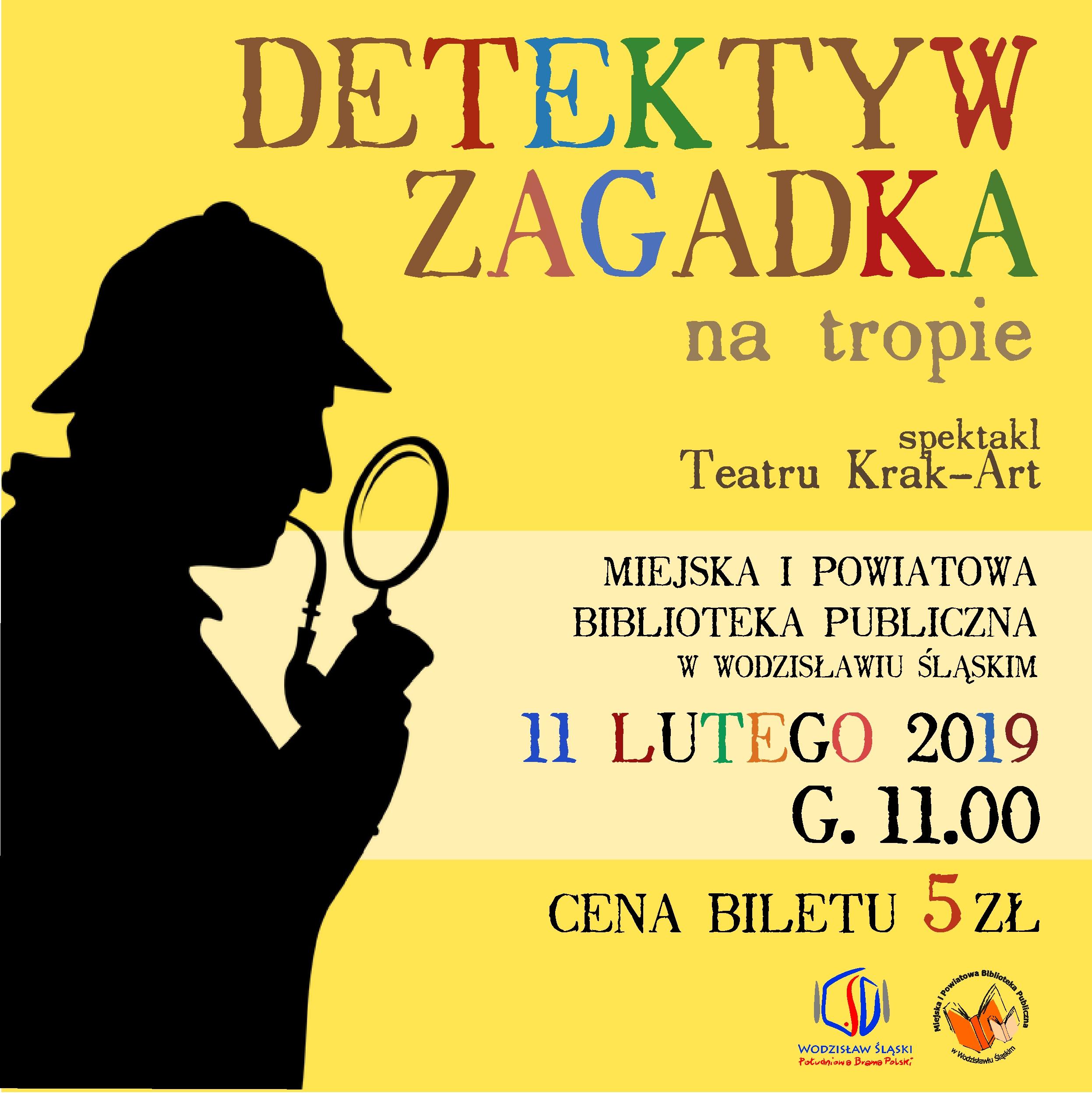 DETEKTYW ZAGADKA NA TROPIE – TEATR KRAK-ART – 11 Lutego 2019 – Godz. 11.00