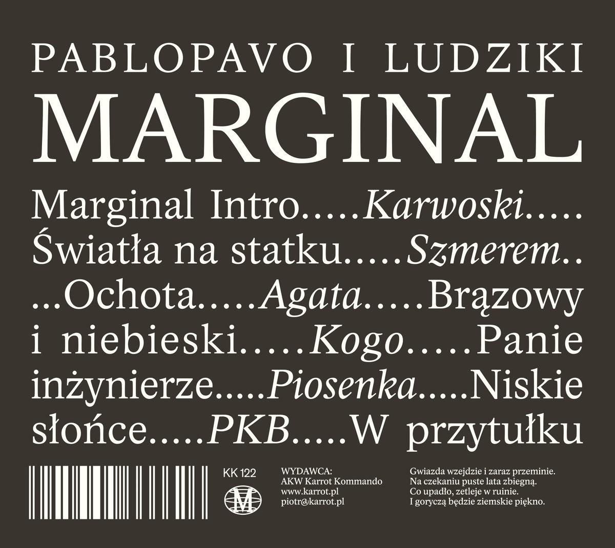 Pablopavo I Ludziki – Marginal