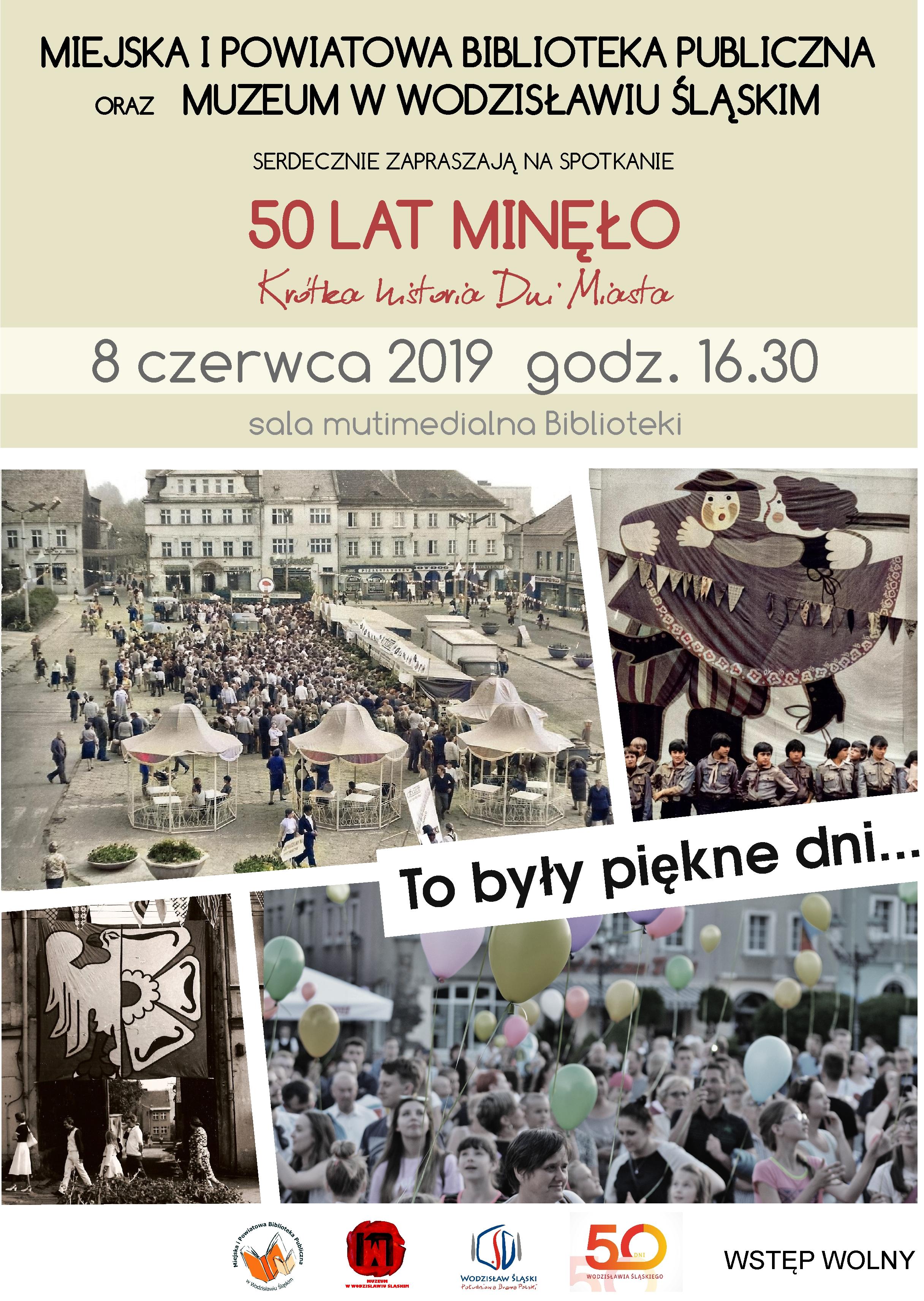 50 Lat Minęło – Plakat