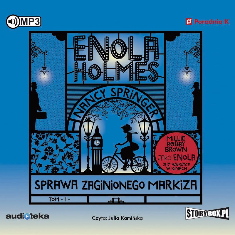SPRINGER NANCY – ENOLA HOLMES 1. SPRAWA ZAGINIONEGO MARKIZA