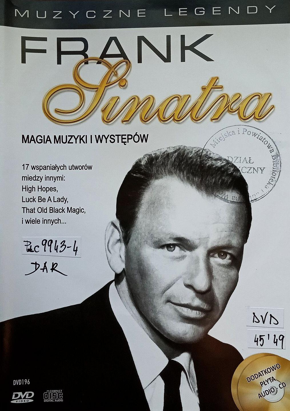 SINATRA FRANK – Magia Muzyki I Występów