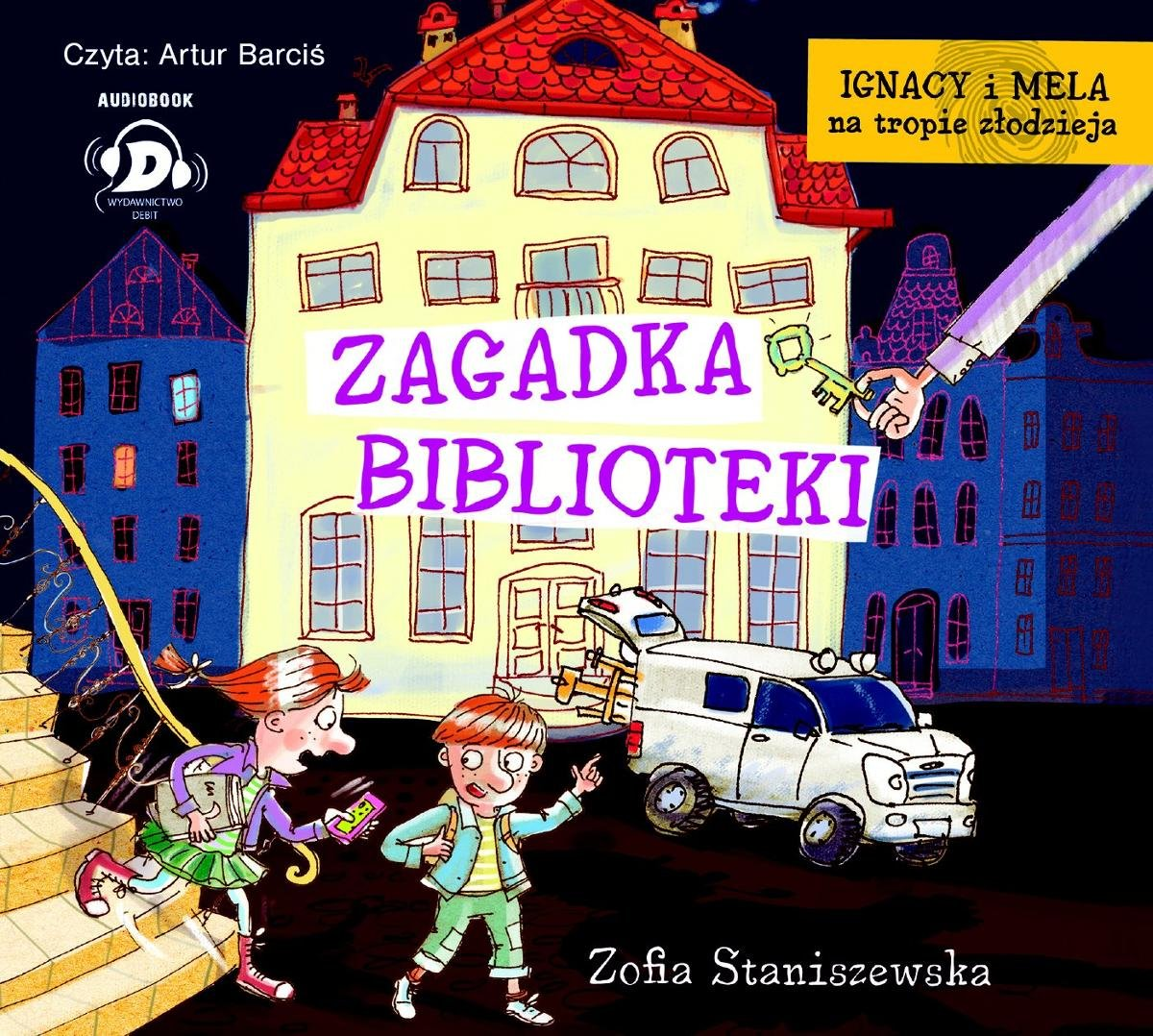 Staniszewska Zofia – Zagadka Biblioteki