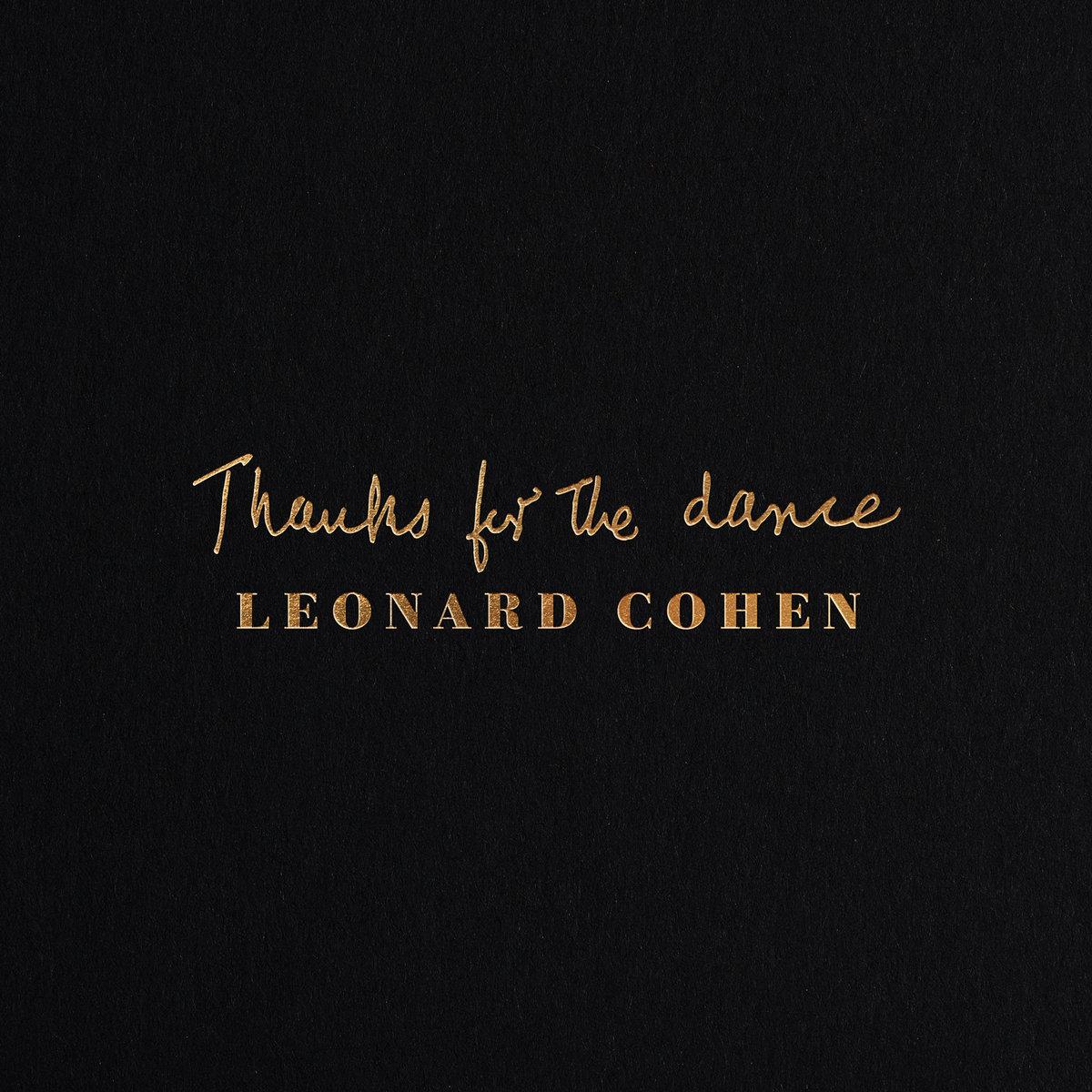COHEN LEONARD – Thanks For The Dance