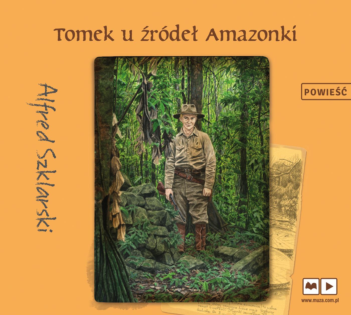 Szklarski Artur – Tomek U źródeł Amazonki