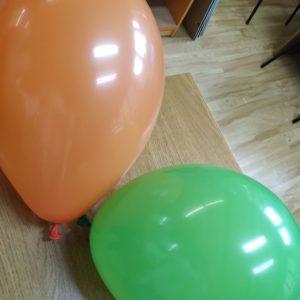 Prace Plastyczną Rozpoczynamy Od Nadmuchania Balonów