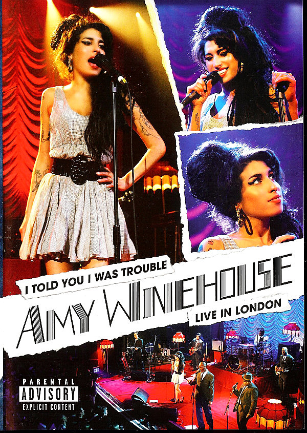 WINEHOUSE AMY – I Told You I Was Trouble – Live In London