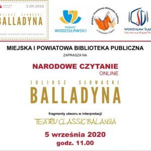 Narodowe Czytanie 2020 Cd