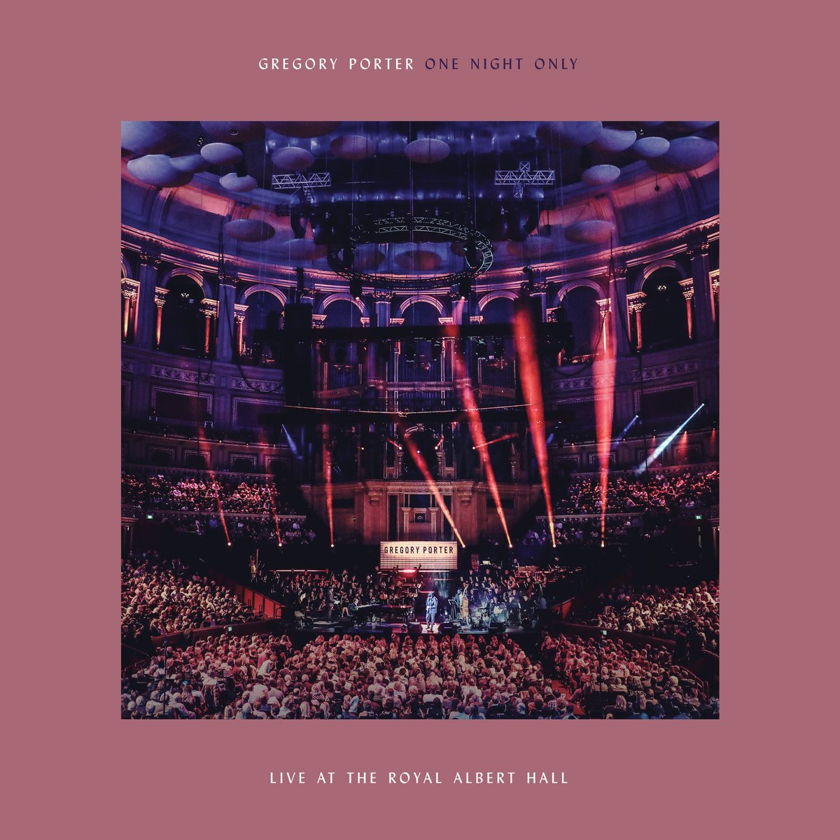 PORTER GREGORY – One Night Only. Live At The Royal Albert Hall