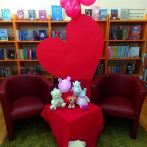 Walentynki W Bibliotece – Dzieci 1