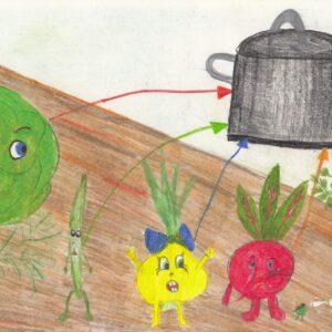 Na Straganie - Praca Plastyczna Konkursu Rysowane Wierszyki