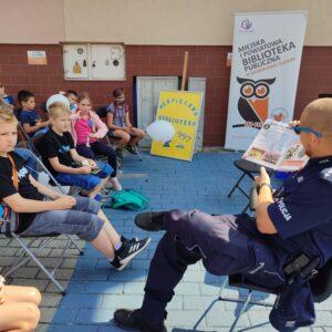 Biblioteka I Policja Dzieciom 2021 – 14