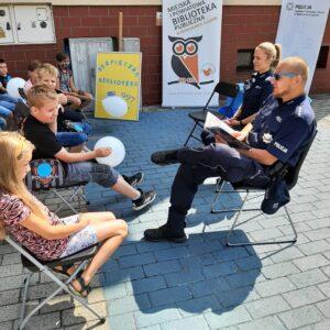Biblioteka I Policja Dzieciom 2021 – 5
